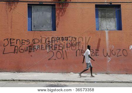 Haitian Earthquake.