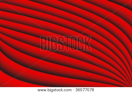 Abstract red Background line