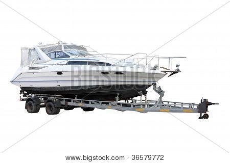Barco de motor.