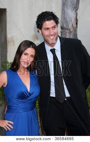 LOS ANGELES - JUL 24: Soliel Moon Frye, Jason Goldberg arrives at the 12th Annual HollyRod Foundation DesignCare Event at Ron Burkle's Green Acres Estate on July24, 2010 in Beverly Hills, CA ....