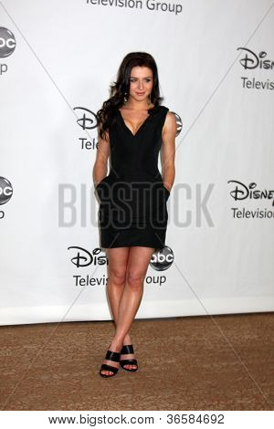 LOS ANGELES - AUGUST 1:  Caterina Scorsone arrive(s) at the 2010 ABC Summer Press Tour Party at Beverly Hilton Hotel on August 1, 2010 in Beverly Hills, CA...