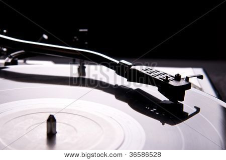 Vinyl Record Player Turntable Tonearm Cartridge With Needle