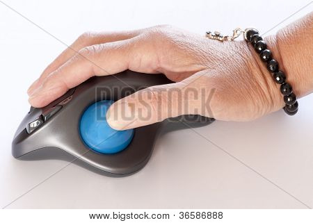 working with a trackball