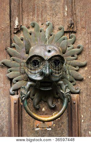 Door Knocker of Cathedral