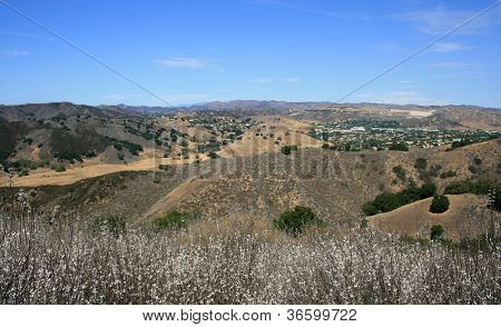 Las Virgenes Overlook Panorama