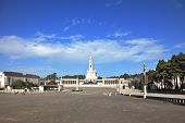 picture of fatima  - The grand memorial and religious complex in the small Portuguese town of Fatima - JPG