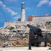 foto of el morro castle  - The castle of El Morro - JPG