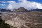 foto of bator  - Caldera and crater of volcano Bromo Java Indonesia - JPG