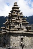foto of arjuna  - Arjuna temple on the plateau Dieng Java - JPG