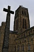 Durham Cathederal  and Boer War Memorial Cross