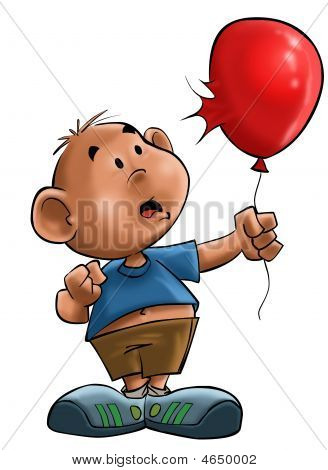 The Boy With The Balloon