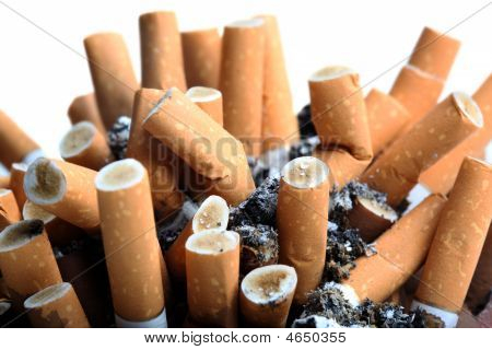 Close Up Of Cigarettes