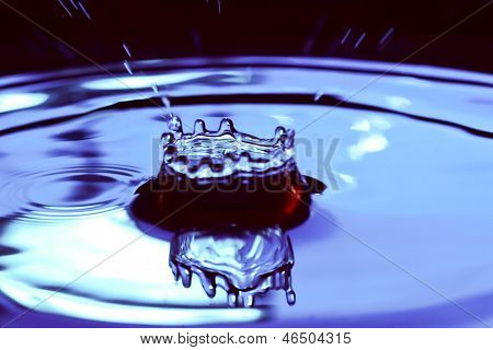 Water Drop And Water Splash.