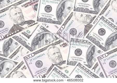 dollar bills, background, business studio photo