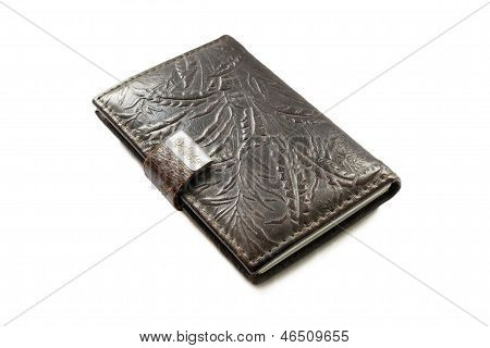 Pocketbook In Leather Cover