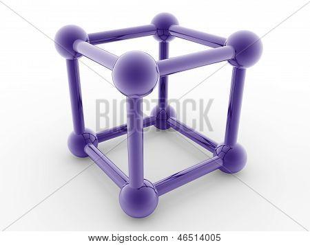 Metallic Cube