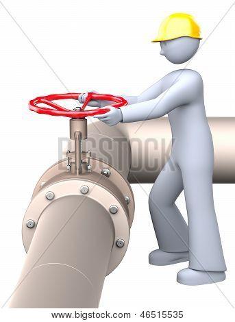 Manual Gas Valve