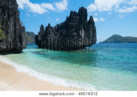 Beautiful Beach And Mountain Islands