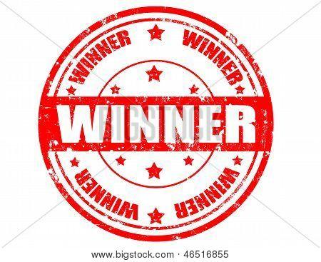 Winner-stamp