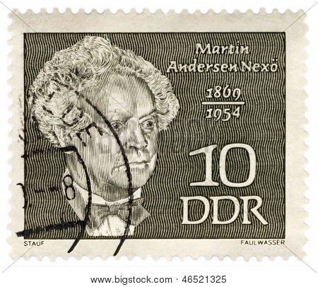 Danish Writer Martin Andersen Nexo