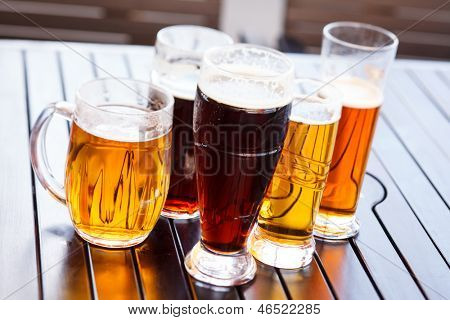 Cool beer mugs