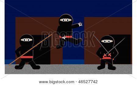 Cute Ninjas