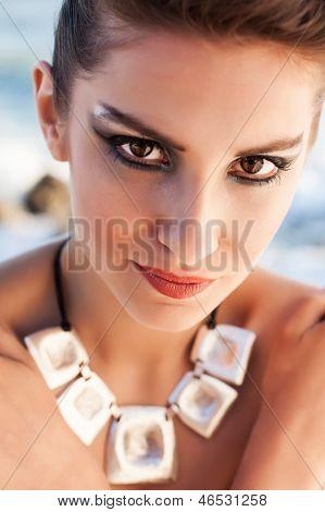 Dramatische Augen