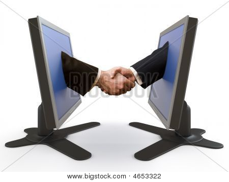 Handshake Between Lcd Screens