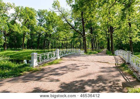 Catherine Park. Pushkin. Russia
