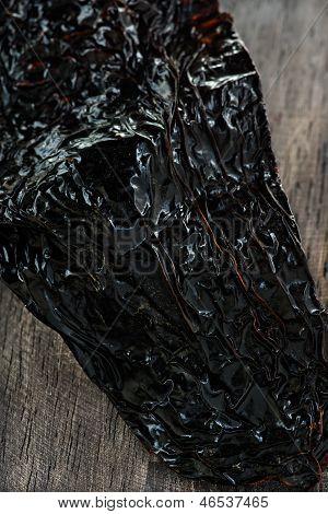Dried poblano (ancho) chili - mexican pepper