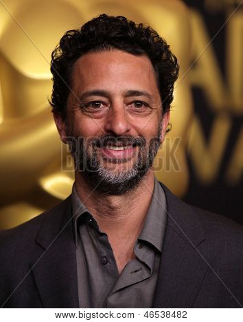 LOS ANGELES - FEB 6:  GRANT HESLOV arrives to the 2012 Academy Awards Nominee Luncheon  on Feb 6, 2012 in Beverly Hills, CA