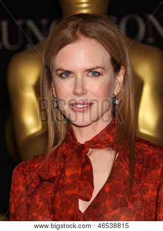 LOS ANGELES - FEB 7:  NICOLE KIDMAN arrives to the 83rd Academy Awards Nominees Luncheon  on Feb 7, 2011 in Beverly Hills, CA