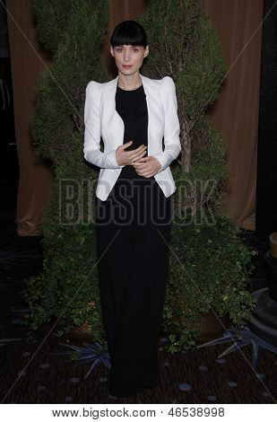 LOS ANGELES - FEB 6:  ROONEY MARA arrives to the 2012 Academy Awards Nominee Luncheon  on Feb 6, 2012 in Beverly Hills, CA