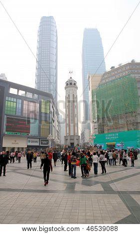 Downtown Chongqing