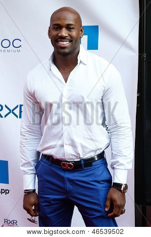 "NEW YORK-MAY 30: ""Biggest Loser"" celebrity trainer Dolvett Quince attends the 5th annual Tuck's Celebrity Billiards Tournament at Slate NYC on May 30, 2013 in New York City."