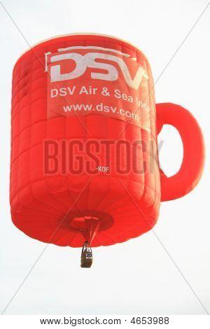 Coffee Mug Hot Air Balloon