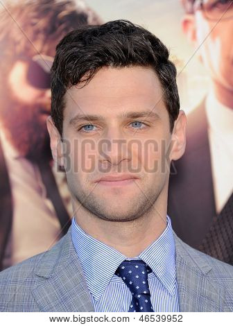 LOS ANGELES - MAY 20:  Justin Bartha arrives to the