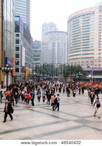Downtown Chongqing View