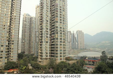 Residential Buildings in Chongqing