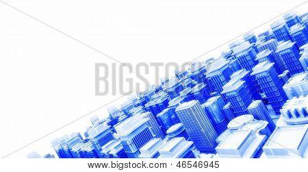 modelo 3D de la ciudad