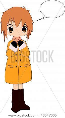 Anime Chibi vector stock