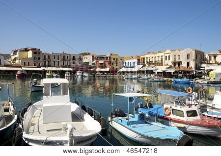 Venetian Harbor of Rethymno