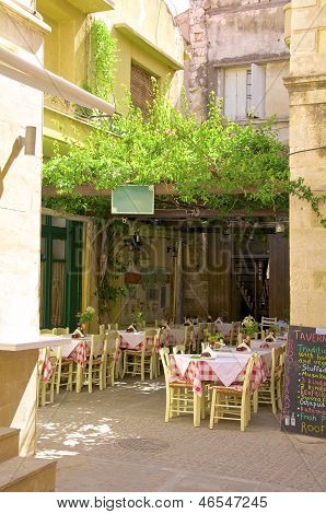 Taverna in Rethymno