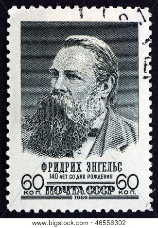 Postage Stamp Russia 1960 Friedrich Engels