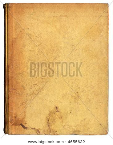 Grubby Old Beige Book Cover