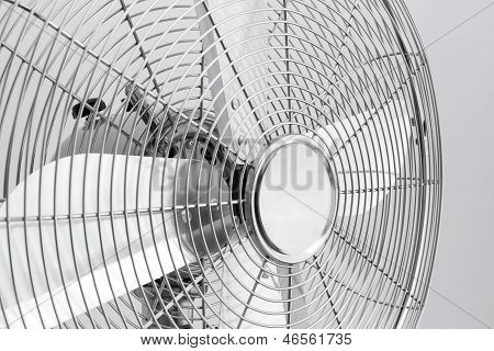 Detail Of Metal Electric Fan