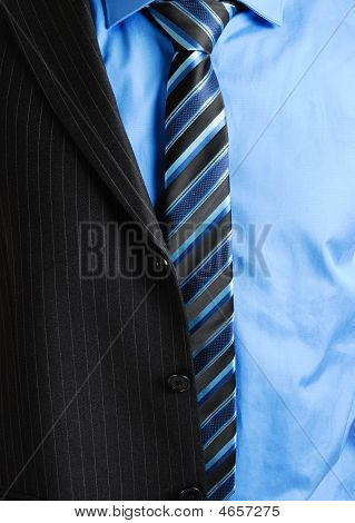 Business Man With Half Suit