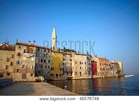 Old town of Rovinj, Croatia