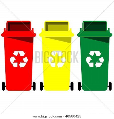Recycle Bin Vector.eps