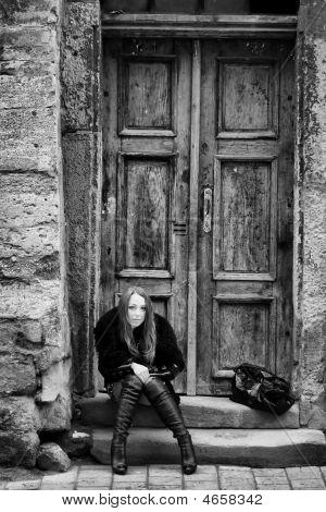 Woman At Door